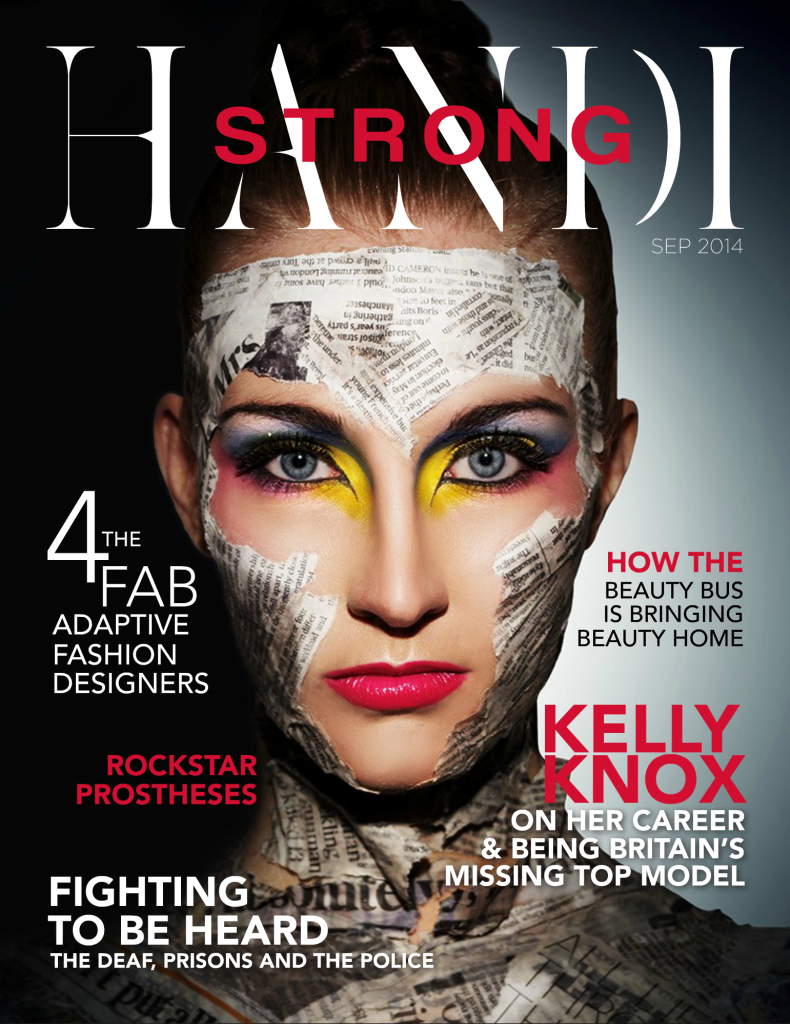 Cover Page of HandiStrong Article